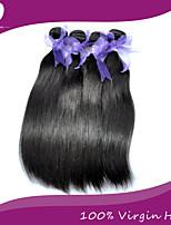 4Pcs/Lot Peruvian Virgin Hair 100% Peruvian Remy Hair Straight 8