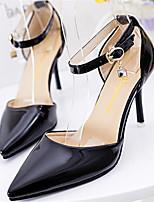Women's Shoes Stiletto Heel Pointed Toe Pumps/Heels Dress Black/White