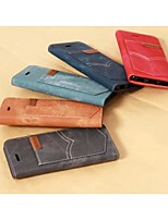 Denim Pattern With a Standoff Holster for IPhone 5/5S(Assorted Colors)