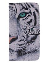 Для Кейс для Sony / Xperia Z3 Бумажник для карт / Кошелек / со стендом / Флип Кейс для Чехол Кейс для Животный принт ТвердыйИскусственная