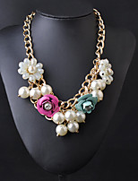 Vintage/Party Alloy/Cubic Zirconia/Imitation Pearl/Acrylic Statement