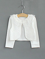 Girl's Cotton Micro-elastic Thin Long Sleeve Fashion Jackets & Coats