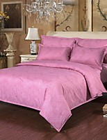 Pink Polyester King Duvet Cover Sets