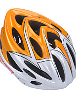 Casque Vélo (Orange , PC / Fibre de Carbone + EPS)-de Unisexe - pentruCyclisme / Cyclisme en Montagne / Cyclisme sur Route /