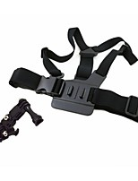 A Model: Chest Body Strap For GoPro Hero 3+/3/2/1, with 3-way adjustment base, shape the same as original one