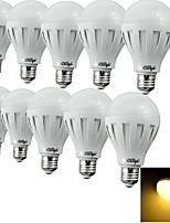 E26/E27 LED-pallolamput 12 SMD 5630 500 lm Lämmin valkoinen / Kylmä valkoinen Koristeltu AC 220-240 V 10 kpl