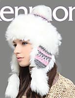 Kenmont Autumn Winter Acrylic Women Lady Warm Earmuff Knitted Hat Outdoor Snow Cap 1300