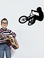 Wall Stickers Wall Decals Style Ride A Bike PVC Wall Stickers