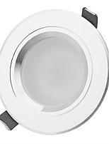 LED Encastrées Décorative Blanc Chaud / Blanc Naturel HESION 1 pièce 3W 3 LED Haute Puissance 270-330lm LM AC 85-265 V
