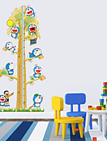 Wall Stickers Wall Decals Style Doraemon Measure Your Height PVC Wall Stickers