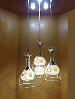 Pendant Lights LED Modern/Contemporary Living Room/Bedroom/Dining Room/Study Room/Office Glass