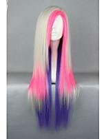 80cm Long Multi-Color Beautiful lolita wig Anime Wig