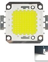 100w 6000k 10000lm Chip LED blanche froide fraîche ampoule blanche haute puissance d'économies d'énergie puce de la lampe (dc 30-33v)