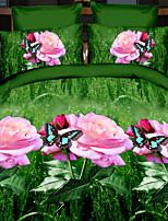 lai de criativo 3 d moda cama de Cosette quatro conjuntos borboleta dançar