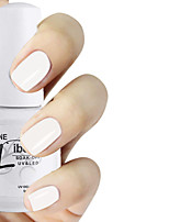 LIBEINE 1pc Soak Off 15 ML UV Gel Nail Polish Color Gel Polish 012# Sleek White