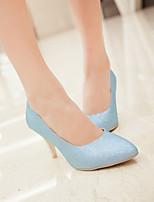Women's Shoes  Stiletto Heel Heels Pumps/Heels Wedding/Office & Career/Dress Blue/Silver/Gold