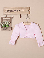 Girl's Pink / White Suit & Blazer , Dresswear Polyester All Seasons