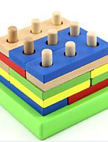 Geometry combined intelligence building blocks