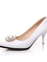 Women's Shoes Faux /Glitter Stiletto Heel Heels/Pointed Toe/Closed Toe Pumps/Heels