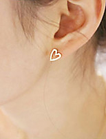 Women's European Style Fashion Love Heart Earrings
