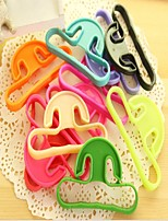 לשאת כלים קניות טבעת מכונה מזון ידית נשיאת תיק תליית צבע אקראי עמיד