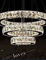 Lustre - Contemporain/Traditionnel/Classique/Rustique/Tiffany/Vintage/Rétro - avec Cristal/LED - Métal