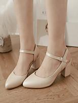 Women's Shoes  Stiletto Heel Heels Pumps/Heels Office & Career/Dress/Casual Blue/Pink/Beige