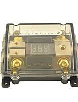 F203 bil spænding display 1 i 2 ud 100a digital ANL sikringsholder til bil auto audio-forstærker