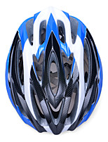 Fashion Comfortable+Safety and High-Breathability Bicycle Helmet (31 Vents) - Black + Blue + Silver