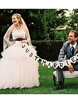 Ikke-personalisert - Unik Bryllupspynt/Bannere & Løpere/Bryllupsdekorationer/Photo Booth Props -Hage Tema/Blomster Tema/Sommerfugl