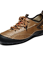 Men's Shoes Casual Leather Fashion Sneakers Brown/Taupe