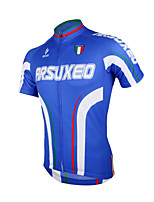 Arsuxeo Men's Breathable Short Sleeve Bicycle Cycling Jersey