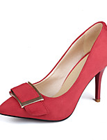 Women's Heels Heels / Pointed Toe Fleece Office & Career / Party & Evening / Dress Stiletto Heel Buckle