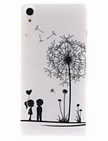 For Sony Case Pattern Case Back Cover Case Dandelion Soft TPU for Sony Sony Xperia Z2 / Sony Xperia E4 / Sony Xperia M2