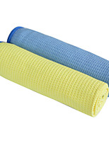 Sinland Microfiber Waffle Weave Car Cleaning and Detailing Drying Towels Assorted colorsPack of 2 16