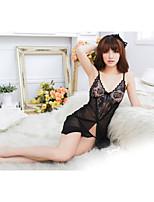 Sexy Night Dress Hot Girl Lady Lingerie Costumes Cute Nightwear Sleepwear Pajamas With Underwear