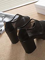 Women's Shoes  Flat Heel Flip Flops/Comfort Sandals Outdoor/Office & Career/Dress Black/Brown/White