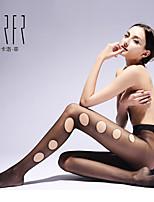 KRFR®Women' Sexy Bamboo Carbon Fiber Thin Pantyhose Tough Enough to Wear