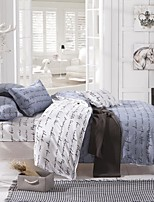 Grey Polyester King Duvet Cover Sets