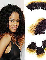 1 Pcs Lot 8 Inch Brazilian Virgin Hair #27 Deep Wave Human Hair Bundles Ombre Curly Deep Wave