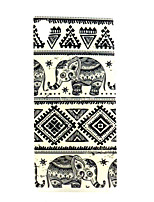 Elephant  Pattern TPU Soft Case for Sony Xperia M4 Aqua