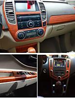 autocollant de décoration de voiture 152 * 100cm film PVC vinyle adhésif autocollants avec bulles d'air libre