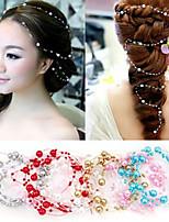 Dame Perle Headpiece Bryllup/Spesiell Leilighet Blomster Bryllup/Spesiell Leilighet 1 Deler