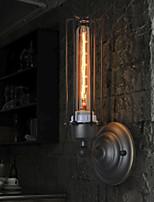 Loft Industrial American Style Country Retro Iron 1 Heads Wall Light Lamp Edison Bulbs