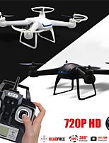 gw007 4 canales 2,4 g de 6 ejes Quadcopter rc giroscopio eversión de 360 grados con la cámara hd 2.0mp