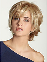 Fashionable Women's Glueless Deep Straight Short Hair Wig for African American