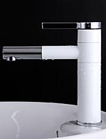 Single Handle Rotatable Spout Lavatory Faucet