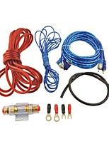 auto bil 500W rca til rca lydkabel forstærker ledninger kit