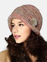 Kenmont Autumn Winter Women Lady Wool Hat Korean Warm Acrylic Retro Knitted Cap 1536