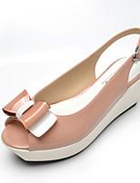 Women's Shoes  Wedge Heel Wedges/Heels/Platform/Comfort/Open Toe Sandals Casual Black/Blue/Pink